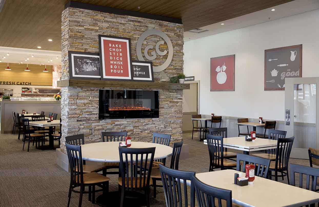 Golden Corral - Fireplace