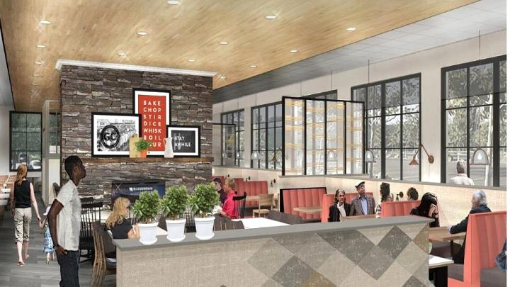 Golden Corral Franchise Redesign Interior